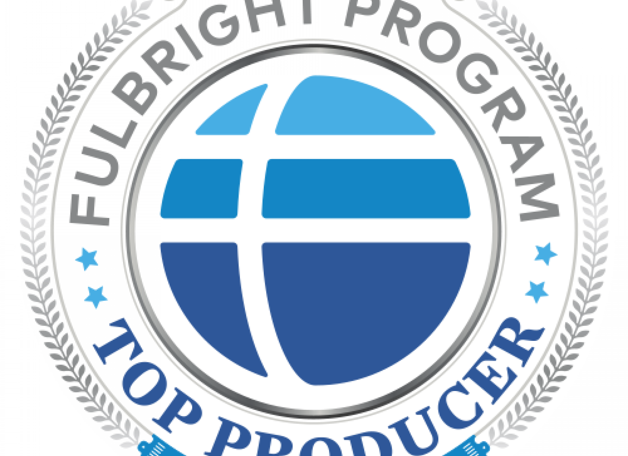 Fulbright seal for top producing institutions